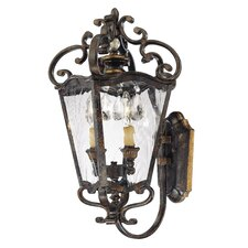 Terraza Villa 2 Light Outdoor Wall Lantern
