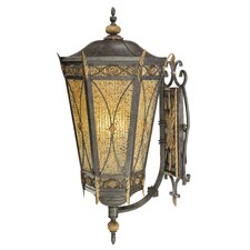 <strong>Metropolitan by Minka</strong> Monte Titano X-Large 3 Light Outdoor Wall Lantern