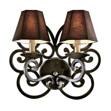 Castile 2 Light Wall Sconce