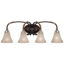 Bella Cristallo 4 Light Bath Light