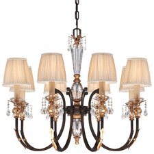 <strong>Metropolitan by Minka</strong> Bella Cristallo 8 Light Chandelier