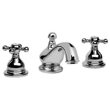 Atlantis Widespread Bathroom Faucet with Double Cross Handles