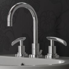 Tranquility Widespread Bathroom Faucet with Double Lever Handles