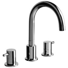 M.E. Double Handle Widespread Bathroom Faucet
