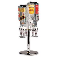 Revolving Six Bottle Rack