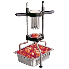 Tomato Cutter in Stainless Steel