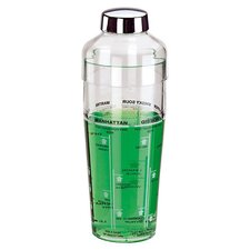 """14.25"""" Acrylic Cocktail Shaker (Set of 2)"""