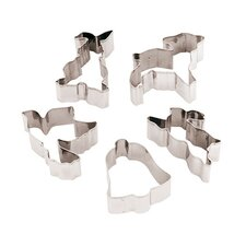 12 Piece Stainless Steel Easter Cookie Cutters Set