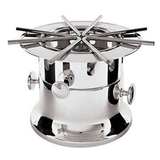 Flambe Burner in Stainless Steel