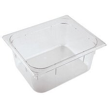<strong>Paderno World Cuisine</strong> 12.5 x 10.5 Inch Polycarbonate Hotel Food Pan