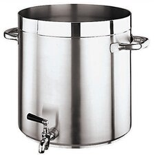 <strong>Paderno World Cuisine</strong> Grand Gourmet Stock Pot with Faucet