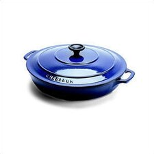 Stainless Steel 3-qt. Cast Iron Round Dutch Oven