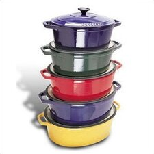 8-qt. Cast Iron Oval Dutch Oven