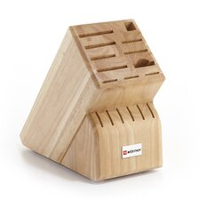 17-Slot Beech Knife Block