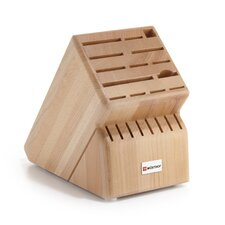 22-Slot Beech Knife Block