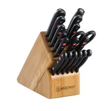 Gourmet 18 Piece Knife Block Set