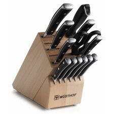 Classic Ikon 14 Piece Knife Block Set
