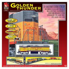 Golden Thunder Train Set