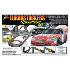 Nascar Turbostockers Speedway Car Set