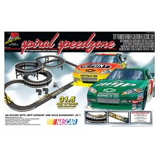 Nascar Spiral Speedzone Car Set