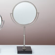 "Kosmetic 18.6"" H x 9.6"" W Olympia Makeup Mirror"