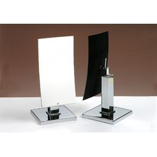 Kosmetic Meredith Mirror in Polished Chrome
