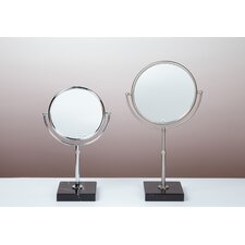 Kosmetic Olympia 3X Mirror in Brushed Nickel