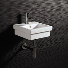 <strong>Bissonnet</strong> Area Boutique Logic 35 Ceramic Bathroom Sink