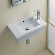 <strong>Bissonnet</strong> Area Boutique Logic 45 Ceramic Bathroom Sink