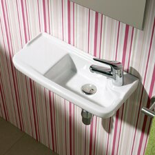<strong>Bissonnet</strong> Universal Oxigen Wall Hung Ceramic Bathroom Sink