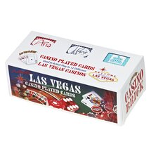 <strong>Las Vegas Style</strong> 12 Pack Casino Brick Assorted Playing Cards