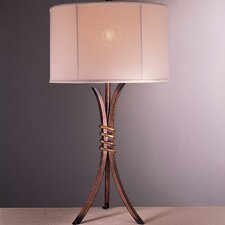 "Belcaro 30"" H Table Lamp with Drum Shade"