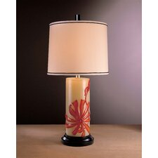 "Casa Cristina Brilliant 34"" Table Lamp with Drum Shade"