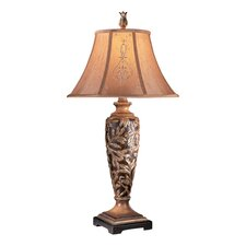 "Salon Grand Jessica McClintock 31"" H Table Lamp with Bell Shade"