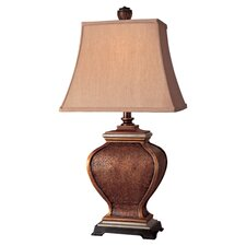 "Casual Accent 28"" Table Lamp with Bell Shade"