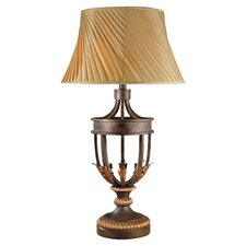 """36.25"""" H Table Lamp with Bell Shade"""