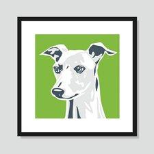 Greyhound Graphic Art