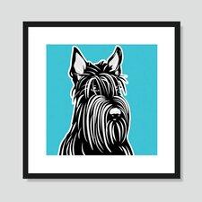 Scottish Terrier Graphic Art