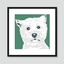 West Highland Terrier Graphic Art