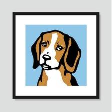 Beagle Graphic Art