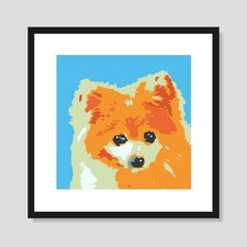 Pomeranian Graphic Art