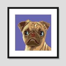 Pug Graphic Art
