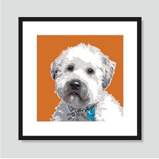 Wheaten Terrier Graphic Art