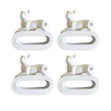 Cat Napkin Ring (Set of 4)