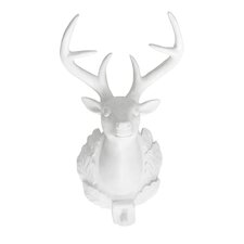 Bavarian Deer Head Trophies Wall Décor (Set of 2)