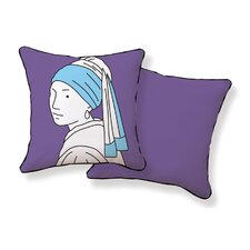 Girl with Pearl Earring Pillow
