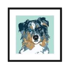 Australian Shepherd Graphic Art