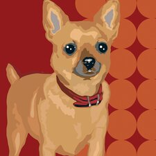 Pooch Décor Tiny Chihuahua Portrait Graphic Art on Canvas