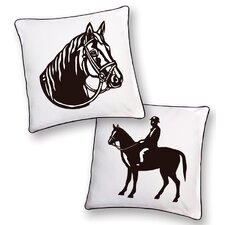 Horse Reversible Pillow