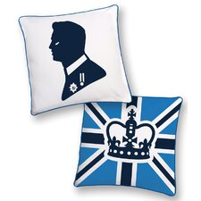 <strong>Naked Decor</strong> British Invasion Prince Reversible Pillow